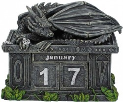Picture of Dragon Calendar Figurine