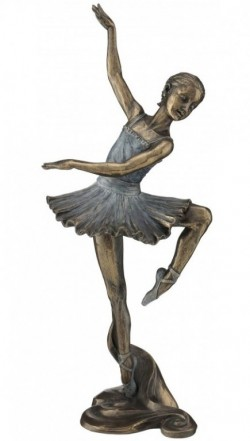 Picture of Ballet Dancer Bronze Figurine 31 cm