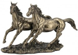 Picture of Wild Horses Bronze Figurine