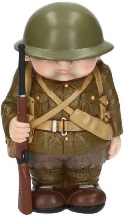Picture of Blighty Soldier Figurine Mini Me Collection 12cm