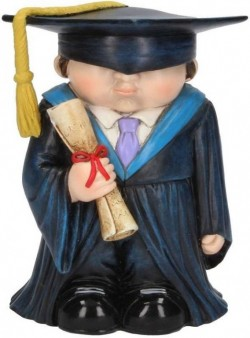 Picture of Smarty Graduation Figurine Mini Me Collection 12cm