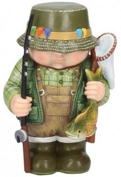 Picture of Rodney Fisherman Figurine Mini Me Collection 14cm