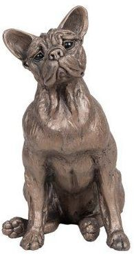 Picture of Sadie French Bulldog Dog Sitting Bronze Sculpture Harriet Dunn 20 cm