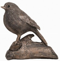 Picture of Robin Bronze Figurine (Thomas Meadows) 14cm