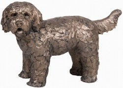 Picture of Button the Labradoodle Bronze Sculpture (Frith)