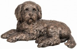 Picture of Oscar the Cockapoo Bronze Sculpture (Frith) 20 cm
