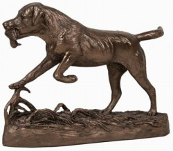 Picture of Labrador Retrieving Duck Bronze Figurine