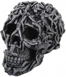 Picture of Hells Desire Skull Ornament 18cm