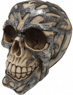Picture of Ironclad Skull Ornament 15cm