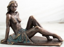 Picture of Aurora Nude Female Figurine by Lluis Jorda 32cm