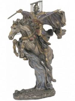 Picture of Liu Bei Bronze Figurine Romance of the Three Kingdoms