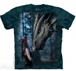 Picture of Once Upon A Time Anne Stokes T Shirt The Mountain