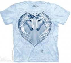 Picture of Unicorn Heart Anne Stokes T Shirt The Mountain