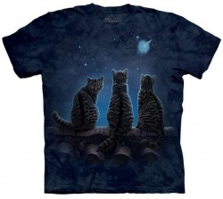 Picture of Wish Upon A Star Lisa Parker Cats T Shirt The Mountain
