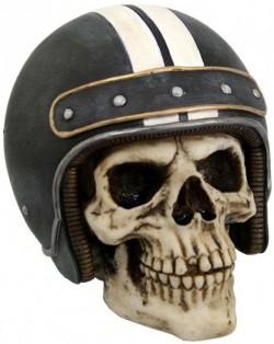 Picture of Racer Skull 15 cm