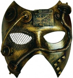 Picture of Steampunk Phantom Costume Mask