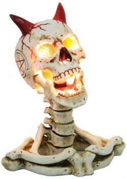 Picture of Hell of a Light Skull Table Lamp (James Ryman) 30cm