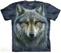 Picture of Warrior Wolf T Shirt The Mountain