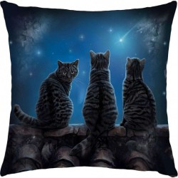 Picture of Wish Upon A Star Cat Cushion (Lisa Parker)
