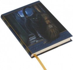 Picture of A Brush With Magick Embossed Cat Journal 17cm