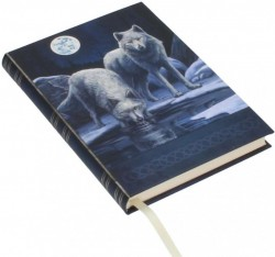 Picture of Wolf Warriors of Winter Embossed Journal Lisa Parker