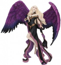 Picture of Dark Messenger Angel Figurine (James Ryman) 22cm