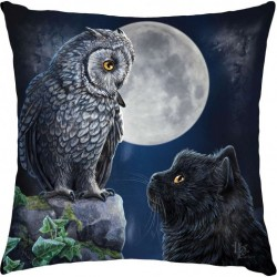 Picture of Purrfect Wisdom Cat Cushion (Lisa Parker)