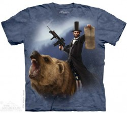 Picture of Lincoln The Emancipator T Shirt The Mountain