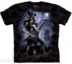 Picture of Play Dead Skeleton T Shirt The Mountain