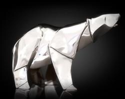 Picture of Polar Bear Hallmarked Sterling Silver Miniature NOMI Design