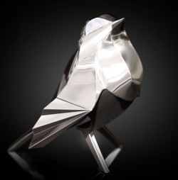 Picture of Robin Hallmarked Sterling Silver Miniature NOMI Design