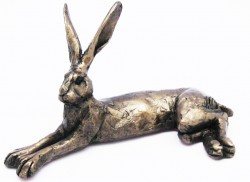 Picture of Harvey the Hare Bronze Sculpture