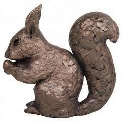 Picture of Red Squirrel Bronze Figurine (Frith)