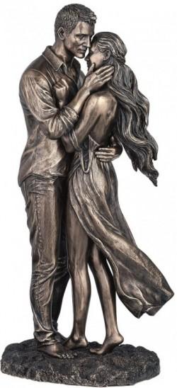 Picture of Amour Nude Couple Bronze Figurine 36 cm
