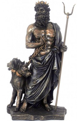 Picture of Hades Greek God of the Underworld Figurine 28cm
