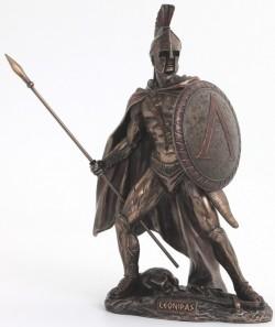 Picture of Leonidas King of Sparta Bronze Figurine 26 cm