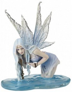 Picture of Fishing for Riddles Fairy Figurine (Selina Fenech) 16cm