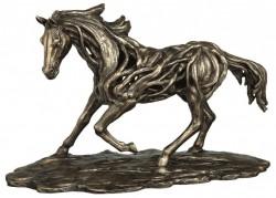 Picture of Free Spirit Contemporary Bronze Horse Figurine LARGE 50cm