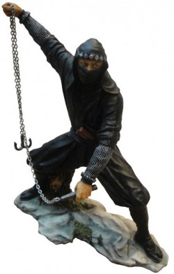 Picture of Japanese Ninja Figurine Colour 22.5cm