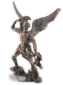 Picture of Archangel Uriel Bronze Figurine 33 cm
