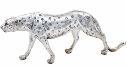 Picture of Silver Art Cheetah Figurine 46cm