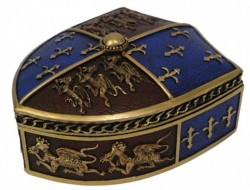 Picture of Medieval Trinket Box 12.5cm