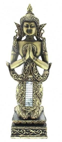 Picture of Thai Buddha Figurine Antique Bronze (Juliana) 32 cm