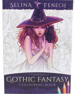Picture of Gothic Fantasy Colouring Book Selina Fenech