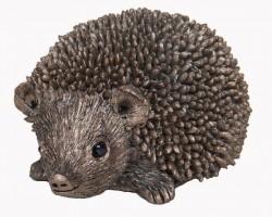 Picture of Squeak Small Hedgehog Bronze Sculpture (Thomas Meadows)
