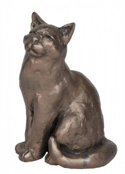 Picture of Ellie the Cat Bronze Ornament