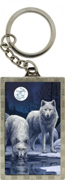 Picture of Warriors of Winter Wolf 3d Keyring (Lisa Parker)