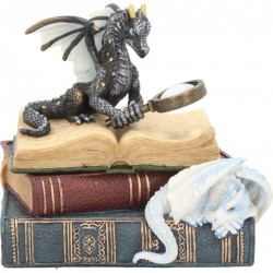 Picture of Dragons of Wisdom Trinket Box Figurine