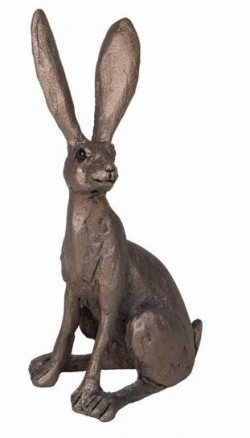 Picture of Jaz Hare Sitting Bronze Figurine SMALL (Thomas Meadows) FRITH MINIMA
