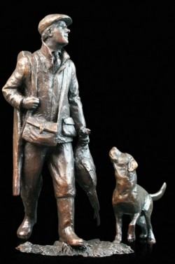 Picture of End of the Day Bronze Figurine (Limited Edition) Michael Simpson